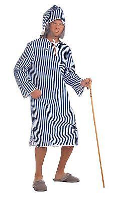 ROOGE NIGHT WEAR FANCY DRESS NATIVITY PLAY COSTUME  (Ebenezer Scrooge Kostüm)