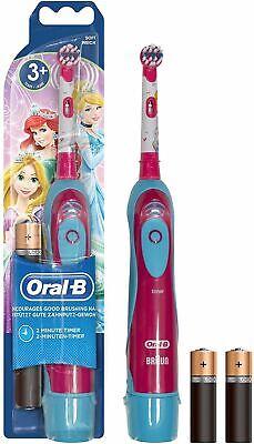 Oral B Stages Poder Disney Princesa Cepillo Dental Eléctrico con Batería