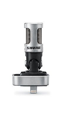Shure Motiv MV88 Digital Stereo Condenser Microphone for iOS - Fast Shipping