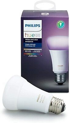 NEW Philips Hue Gen 3 60W A19 White & Color Ambiance Bulb