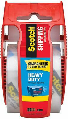 3m Scotch Heavy Duty Shipping Packaging Tape Dispenser New 1.88 In X 800in