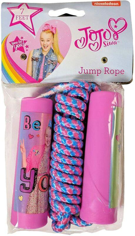 JOJO SIWA PINK 7 FOOT JUMP ROPE JUMPING ROPE-BRAND NEW WITH TAGS!