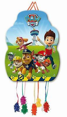 Nickelodeon BOYS Paw Patrol Pinata Sweets Pull String Birthday Party 33 x 46cm - 40 Pinata