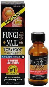 Fungi Nail Toe & Foot Maximum Strength Anti Fungal Solution - 1 oz