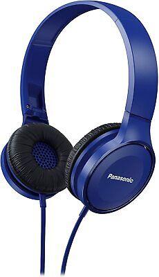 Panasonic RP-HF100ME-A Auriculares Diadema Cerrados con Cable Azul