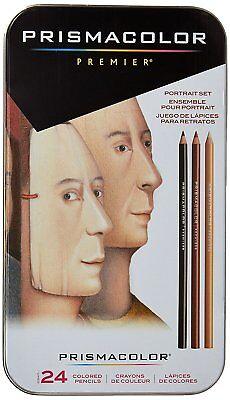 Prismacolor Premier Colored Pencils Portrait Set Soft Core 24 (Prismacolor Premier Colored Pencils Soft Core 24 Count)