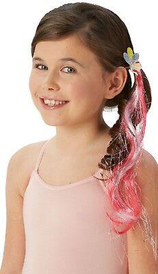 Mädchen My Little Pony Pinkie Pie Klemme Kostüm Kleid Outfit Haarzubehör