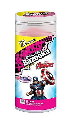 Bazooka Sugar Free Disney/Marvel Tube 22 pc (Pack of 8) … 8 Bazooka Tube