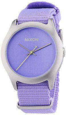 Nixon Women's A348-1366-00 Mod 38mm Pastel Purple Watch A3481366
