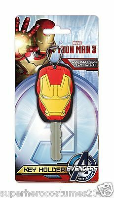 Avengers Iron Man 3 PVC Key Holder Key Chain BRAND NEW 67967