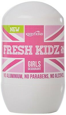 Keep It Kind Fresh Kidz Girls Natural Deodorant, 1.86 Fluid Ounce