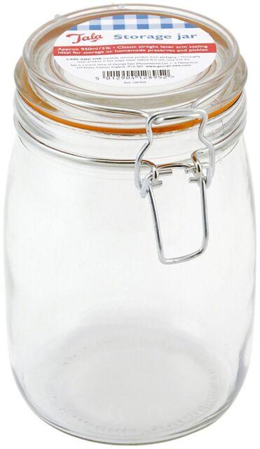 Tala 950 ml/ 2 lb Classic Airtight Lever Arm Storage Jar