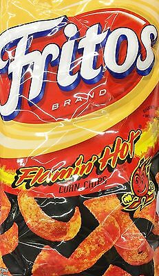 Fritos Flamin' Hot Flavored Corn Chips 9.25 - 3 Bags