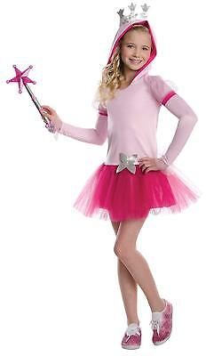 Glinda the Good Witch Childs Costume Dress w/ Hood & Attached Tutu Size Medium](Glinda The Good Witch Costume Girls)