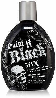 Best selling Paint It Black 50x Auto-darkening Dark Tanning Lotion (Best Selling Tanning Lotion)