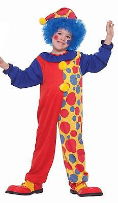 Clown Around The Town Child Red Polka Dot Clown Costume Small](The Town Costumes)