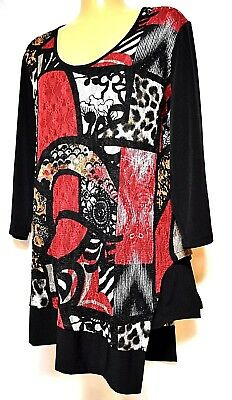 TS top TAKING SHAPE plus sz XXS / 12 Casablanca Top stretch comfy NWT rrp$120!