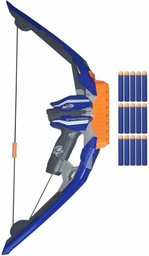 Nerf N-Strike StratoBow Bow.  Frustration Free Packaging. Free Ship.
