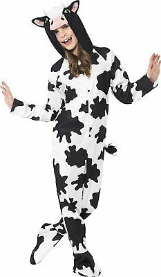 Cow Halloween Costume (Party Animals Cow Halloween Costume Farm Child Kids Black N' White)