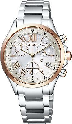 CITIZEN xC Eco-Drive Chronograph FB1404-51A Women's Watch New in Box