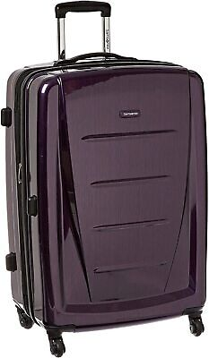 Samsonite Winfield 2 Hardside Expandable Luggage with Spinner Wheels, Purple 🦋