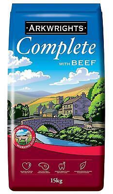 Arkwrights Complete Dry Dog Food Beef 15Kg Tasty, Healthy Protein
