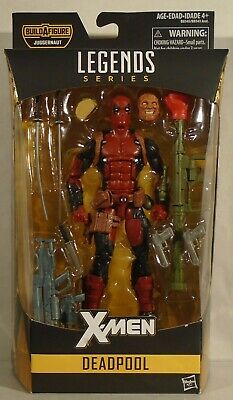 Marvel Legends Deadpool Juggernaut BAF Series X-Men Deadpool X-Force Hasbro Taco