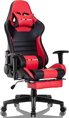 Gaming Chair - Wolf Warriors - Red - Used For A Week - Not In Perfect Shape