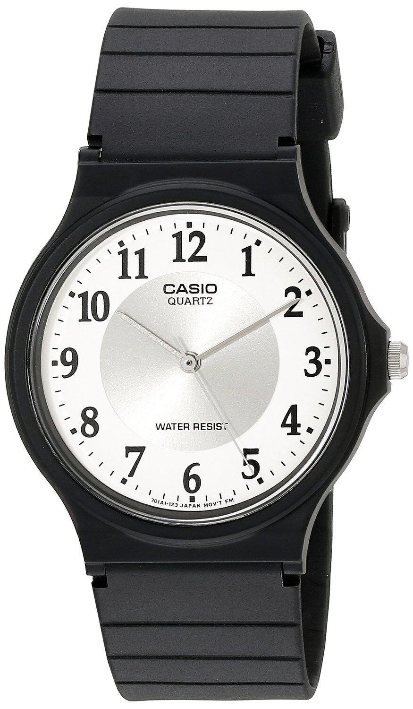 Купить Casio Casio Classic - Casio MQ24-7B3 Men's Black Resin Band Classic White Numbers Dial Analog Watch