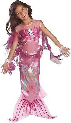 Kleinkind Mädchen hinreisend hübscher rosa Meerjungfrau TV Film (Meerjungfrau Kostüm Kleinkind)