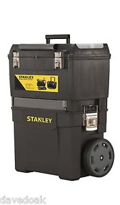 NEW Stanley Mobile Work Centre, Toolbox, Chest, Tool Storage - FREE P&P