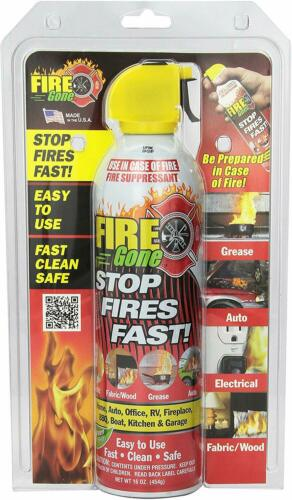 Max Professional FG6-067-106 Fire Gone 6 Pack Countertop Display Stops Fire Fast