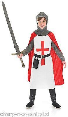 Jungen Kinder st Georg Kreuzritter Historisch Kostüm Kleid - St George Kostüm Kind