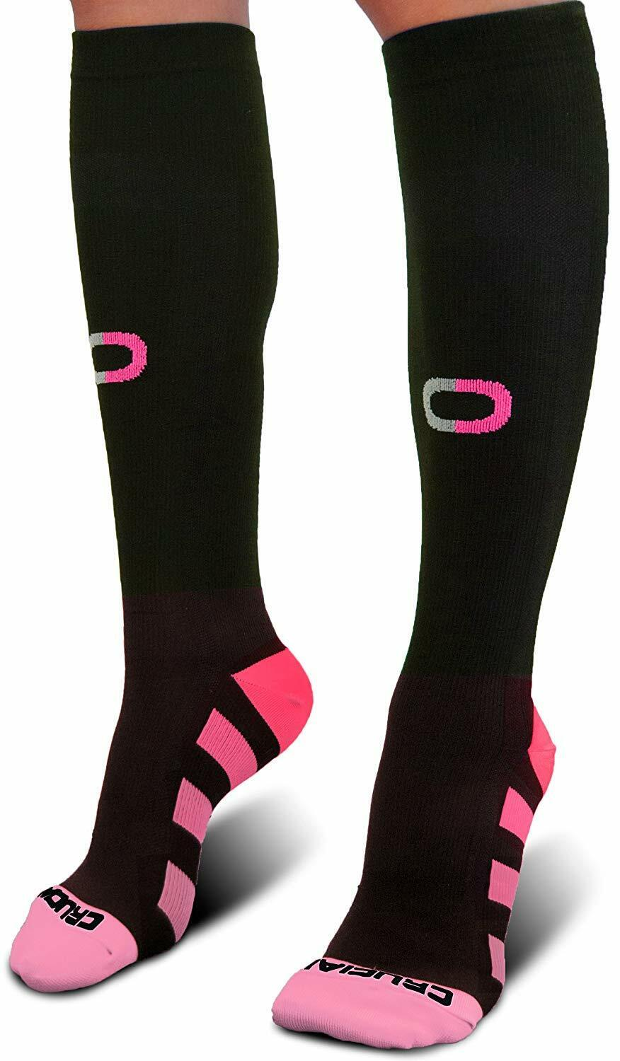 Crucial Compression Socks for Men & Women  - Best Graduated