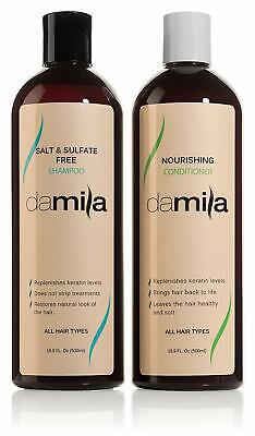 Best Salt & Sulfate Free Shampoo & Nourishing Conditioner for daily