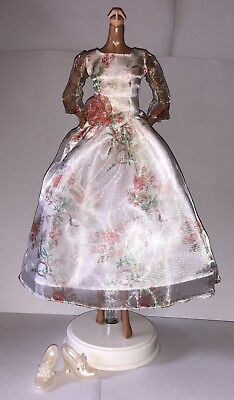 Disney Live Action Movie Beauty and the Beast Belle Doll Outfit Floral Dress NEW