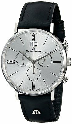 Maurice Lacroix Men's EL1088-SS001-110 Eliros Swiss Chronograph Watch