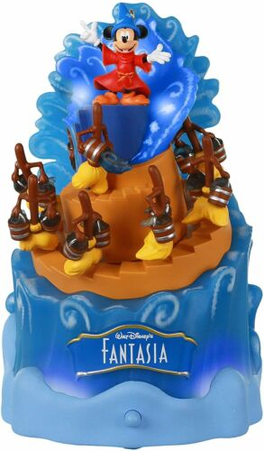 Hallmark 2020 Disney Fantasia Magic Lights & Sound 80th Anniversary Ornament New
