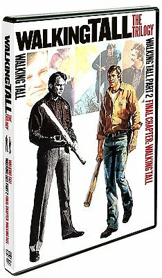 Walking Tall Trilogy: Complete 70s Movie Series Joe Don Baker DVD / Box Set NEW!
