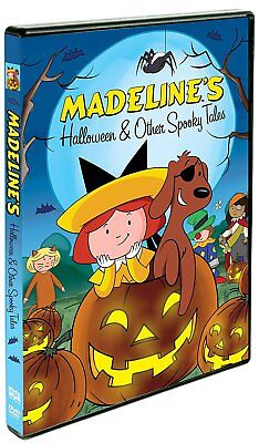 New: MADELINE'S HALLOWEEN AND OTHER SPOOKY TALES DVD (Halloween Spooky Movies)