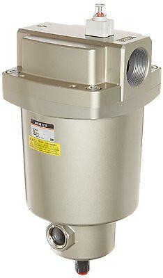 Smc 34 Main Line Filter 78 Cfm W Auto Drainremoves Oil Water Particles