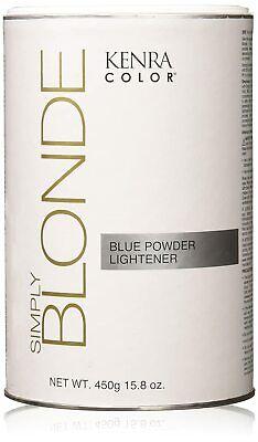 KENRA Color Simply Blonde Blue Powder Lightener Salon Size 450g  Brand New Fresh