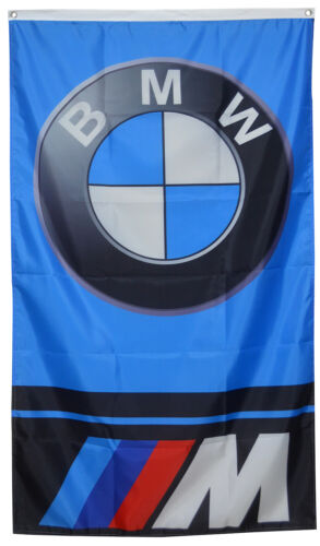 BMW Flag Vertical M Power Banner 3x5ft  US Seller
