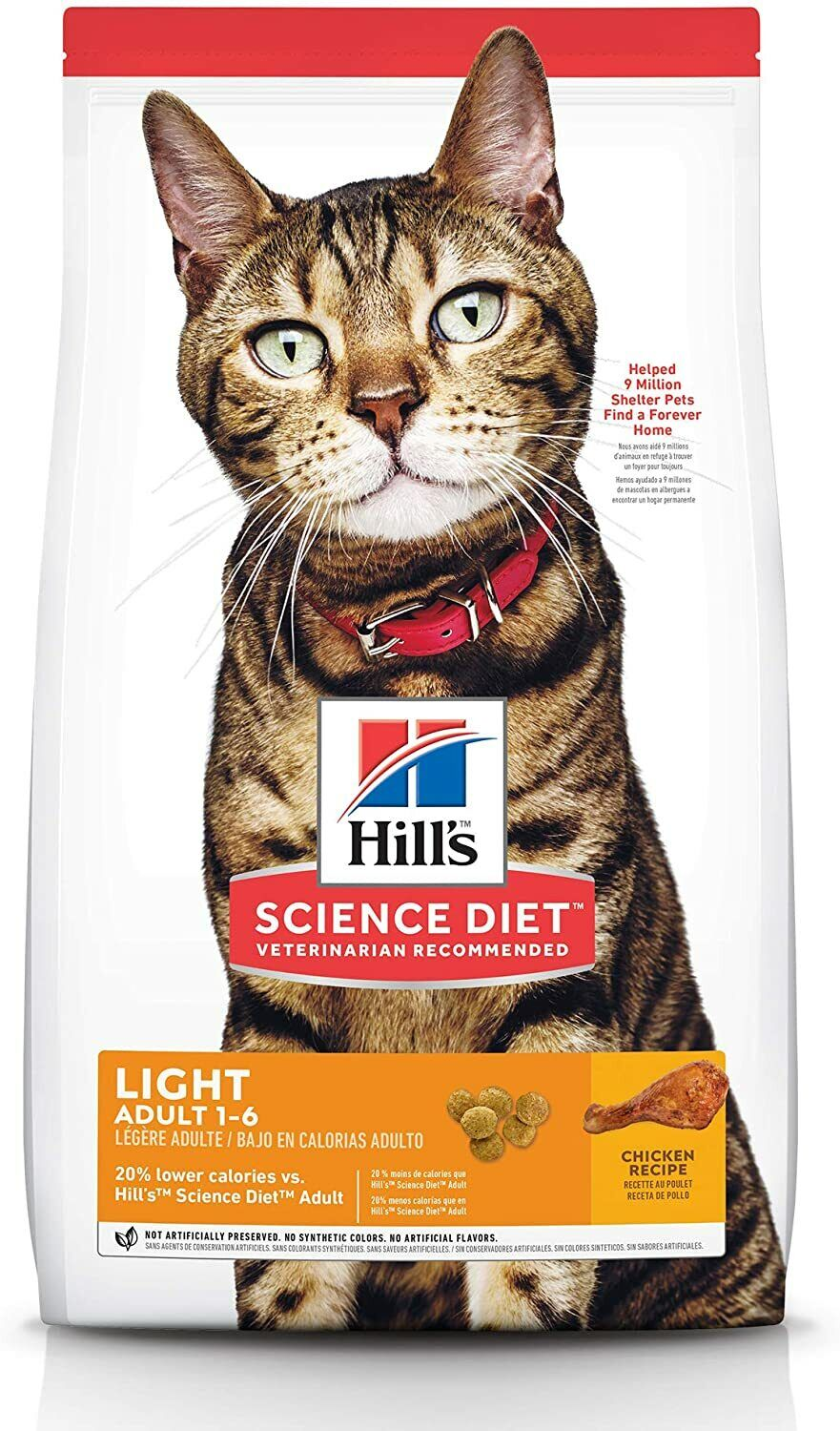 Hill's Science Diet Dry Cat Food, Adult, ...
