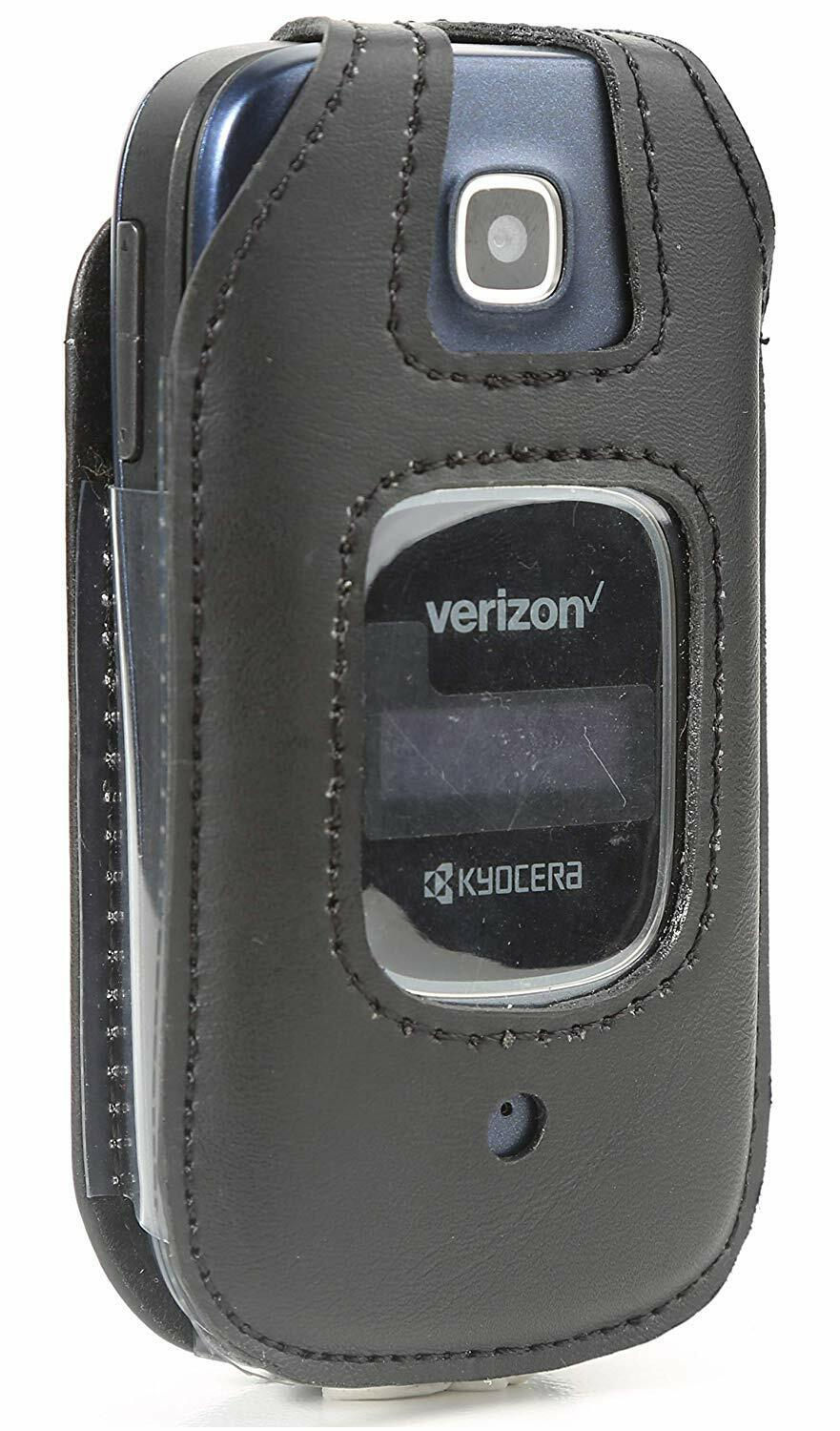 Leather Fitted Case for Kyocera Cadence 4G LTE S2720 Verizon