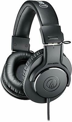 """Audio-Technica ATH-M20x Professional Studio Monitor Headphones, Black"""