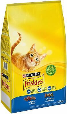 3x Friskies Easi-Feed 3 en 1 Tazón de fuente de agua y comida para mascotas Gato