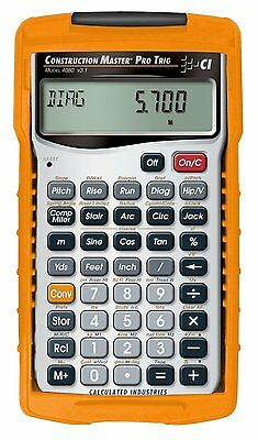 Calculated Industries Construction Master Pro Trig 4080 Armadillo  Cover
