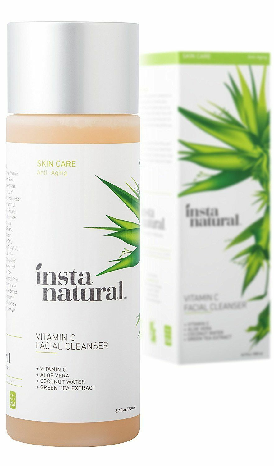 Vitamin C Facial Cleanser - Anti Aging, Breakout & Blemish,