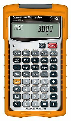 Calculated Industries 4065 Master Pro Construction Project Calculator